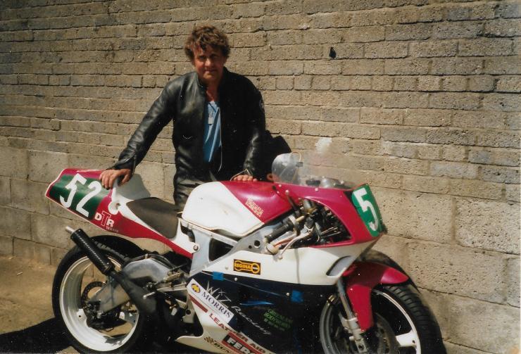 1997 Yamaha TZ Lightweight No52