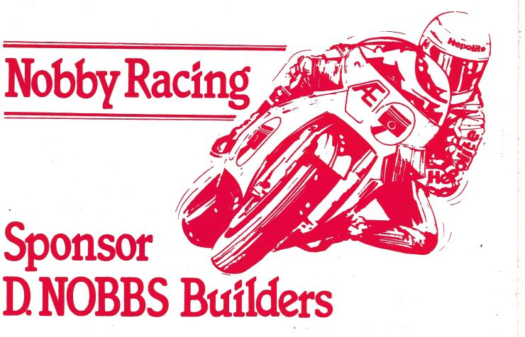 D Nobbs Builders Sticker